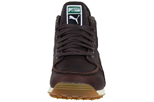 Puma Easy Wing L Mashup Mid Sneaker Men Trainers brown 351502 01 leather braun