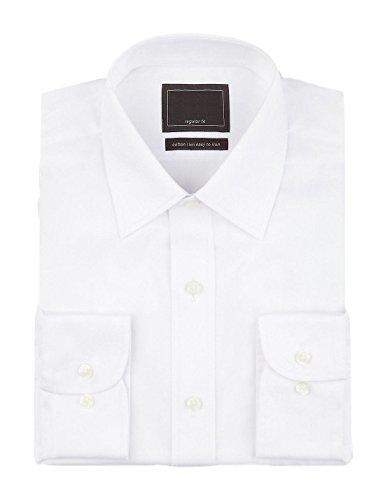 fa-m-ou-s-store-cotton-rich-easy-to-iron-twill-shirt-16-white-5079-ll-0674