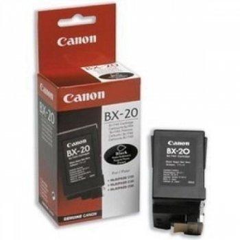 Canon Printhead BX-20BLACK INK CARTRIDGE–INK CARTRIDGES (Black, Faxphone B740Multipass C530/C545/C560/C2500/C3000/C3500/C5000/C5500, Inkjet, 10–80%, 5–35°C)