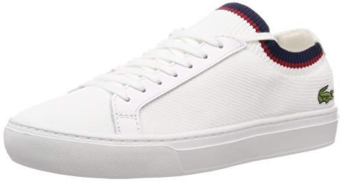 Lacoste Herren La Piquee 119 1 CMA Sneaker, Weiß (Wht/NVY/Red 407), 45 EU