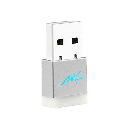 MK Electronics® – Mini Wifi Dongel WiFi Wireless USB 2 0 Adaptador Stick  para Windows, Mac y Linux – Verdadero Chip Realtek rtl8192cu, adecuado