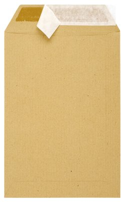 Enveloppes Kraft Recyclees 16x23 90g - Boite De 500