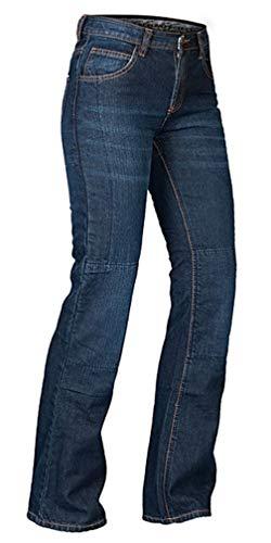 Motorrad Hose MBW Damen Kevlar Stretch Jeans Größe 36