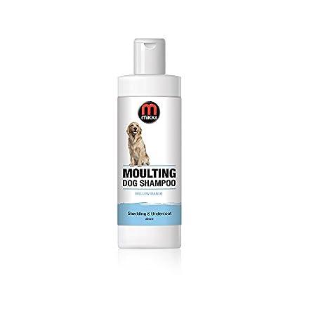 Mikki 6300232 Moulting Dog Grooming Shampoo, Fellwechsel-Hundeshampoo, 250 ml