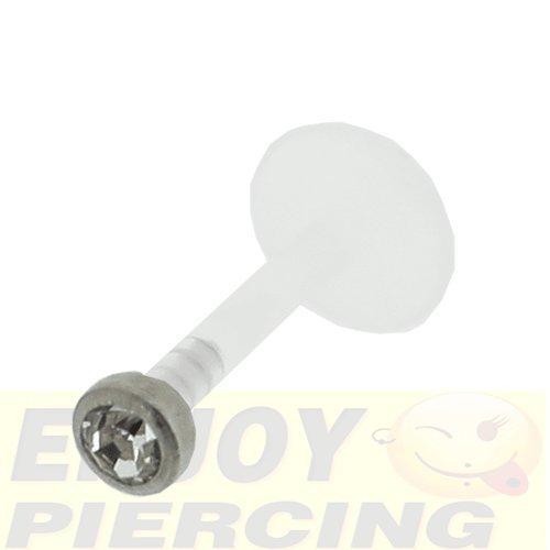 piercing-levre-labret-bioflex-cristal-clos-blanc