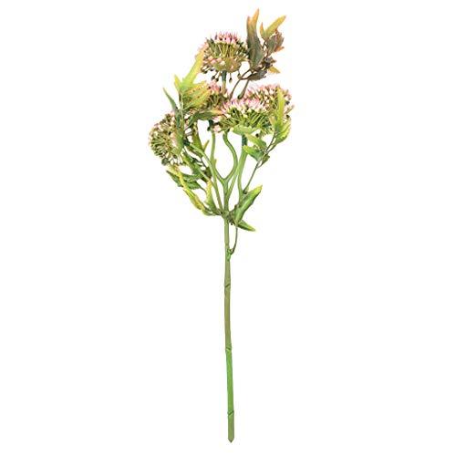 TianWlio Mini Tulpe Künstliche Blume Latex Real Braut Hochzeit Blumenstrauß Nach Hause Dekor