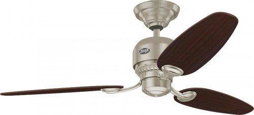 Hunter 24275 ventilador de techo Soho - níquel cepillado