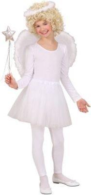 Widmann 1934A - Kinderkostümset Engel, Heiligenschein, Flügel und Rock, (Kleinkind Engel Kostüm)