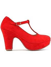 Modelisa - Zapato Tacón Plataforma Mujer