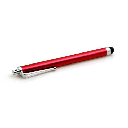 System-S Stylus Touch Pen Bildschirm Eingabe Stift für kapazitive Display in Rot für LG G-Slate Optimus Pad V900 Optimus 7 GS290 Cookie Fresh