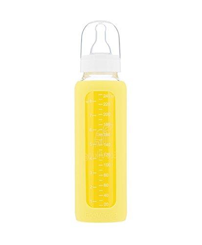 Eco Viking EV0009 Standard-Babyflasche, Gänseblümchengelb, 240 ml Preisvergleich
