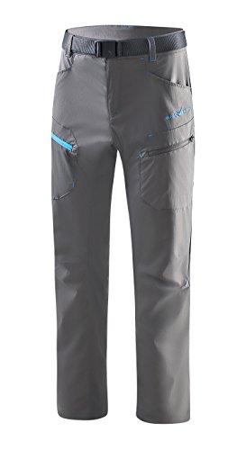 Black Crevice Pantalon de Trekking pour Homme, Anthracite, XL