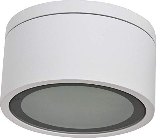 EVN Lichttechnik Decken-/Wandleuchte 487001N ws 230V GX53 11W IP54 Decken-/Wandleuchte 4037293014526
