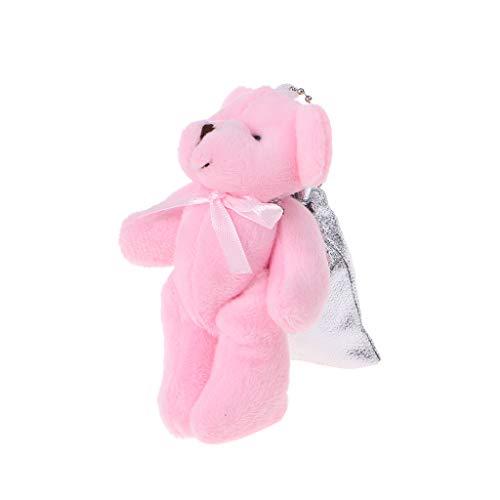 Vivianu Süßigkeitentasche, Taschengröße, Cartoon-Baby-Bär, als Dekoration für Hochzeit, Haushalt, Party, Geburtstag, Souvenir merhfarbig