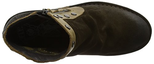 FLY London Duke941fly, Santiags Femme Marron (Sludge/olive)