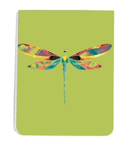 Tree-Free 74108 Notizblock, 128 Seiten mit genähter Bindung, recycelt, 8,9 x 11,4 cm, Sommer-Messenger, mehrfarbig