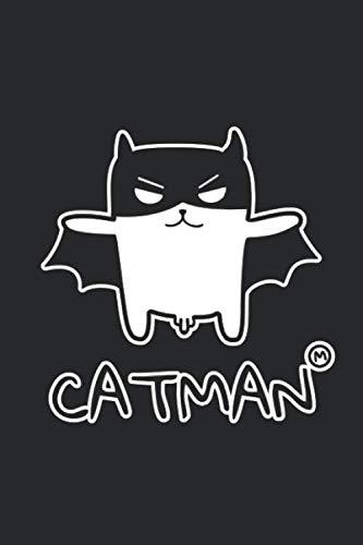 Catman: Notizbuch für Superhelden & Katzenfreunde | Kater | Main Coon | - Männliche Superhelden Kostüm