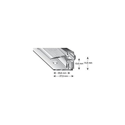 Trio Grip Profilé anodisé 8–15L = 900mm, sable, LP9100SD 900