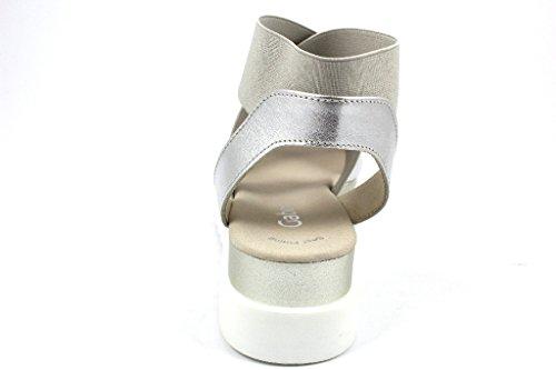 Gabor 63.612-60, Sandali donna metallo