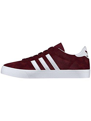 Pattini Uomo chuh Adidas skateboarding Campus Vulc II Adv skateschuhe maroon/ftwr white/ftwr wh