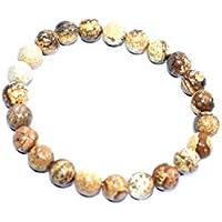 Bracelet Picture Jasper 8 MM Birthstone Handmade Healing Power Crystal Beads preisvergleich bei billige-tabletten.eu