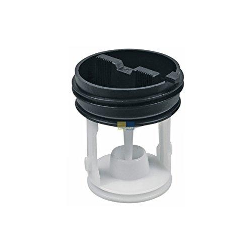 Europart 10029402 Flusensiebeinsatz Ablaufpumpenfilter Flusenfilter Filter Sieb gerade Form Waschmaschine passend wie Bauknecht Whirlpool 481248058385 auch Gala Hanseatic Ignis Polar - Waschmaschine Flusenfilter