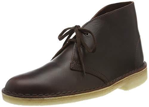 Clarks Damen. Desert Boot, Braun (Chestnut Leather), 38 EU