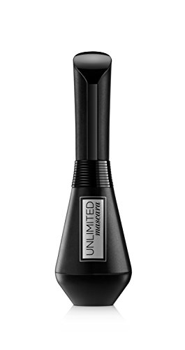 L'Oréal Paris Unlimited Mascara in Black, schwarze Wimperntusche für intensives Wimpern-Lifting, bis zu 24 h Halt, innovative Knick-Bürste, 7,5 ml