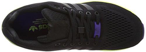 adidas ZX Flux, Scarpe da Ginnastica Unisex – Adulto Nero (Negro/Lima)