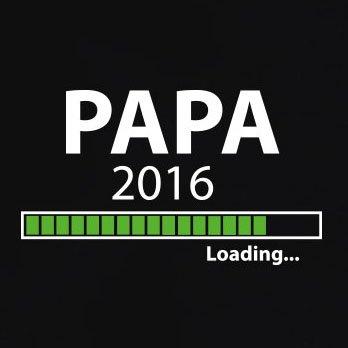 TEXLAB - Papa 2016 Loading - Herren T-Shirt Grau