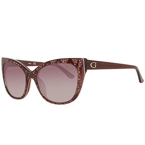 Guess Damen Gu7438 50F 54 Sonnenbrille, Rot,