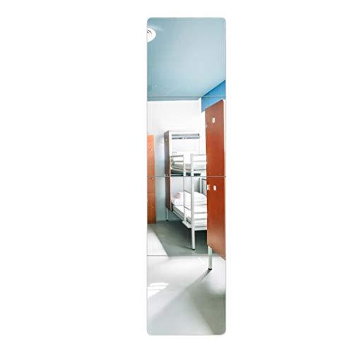 Espejo cuadrado montado pared   Espejo rectangular