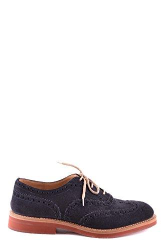 Church's Homme MCBI069083O Bleu Suède Chaussures À Lacets