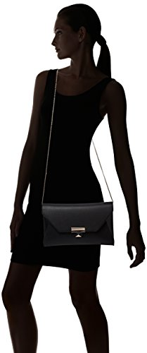 Guess Haute Romance Large Clutch, Crochet pour Sac Femmes, Taille Unique Noir (Nero)