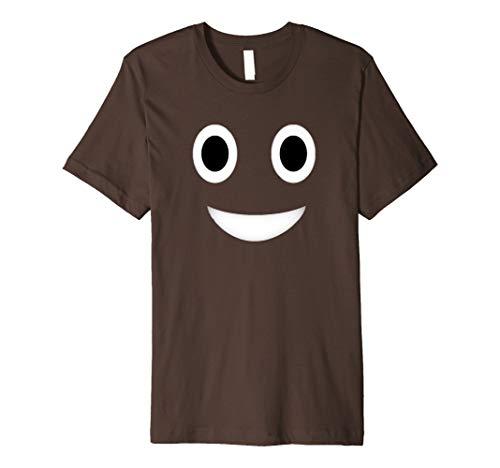 Poop-Emoji t-shirt lustiges Kostüm haufen shirt poop shirt