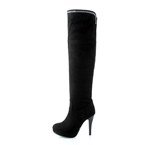 Sconosciuto 1TO9Mns02084 - A Collo Alto Donna Black