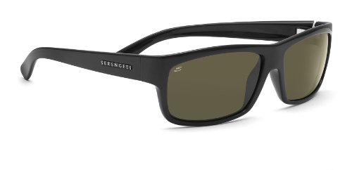 Serengeti Martino Sonnenbrille, Unisex - Erwachsene, Martino, schwarz