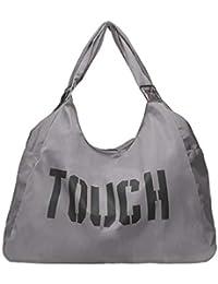 asiproper Fashion Women Nylon Shoulder Bags Large Capacity Handbang Travel  Sports Shopping Bag Casual Accessories a5fe87c85216c