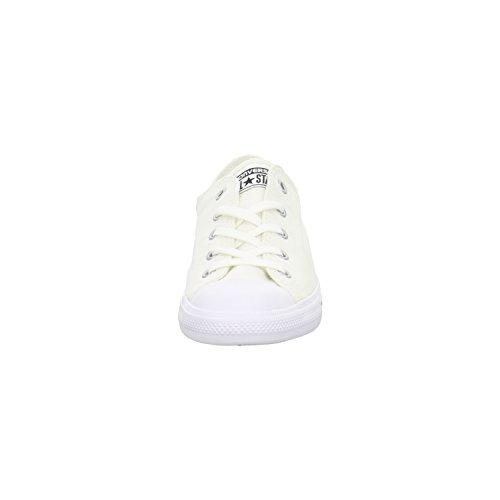 Converse Mandrini Ballerina 551656C grigio Dainty All Star Ballet Lace mouse Bianco Nero Bianco