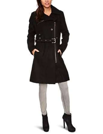 Kuyichi Slinky Double Breasted Women's Coat Black Large