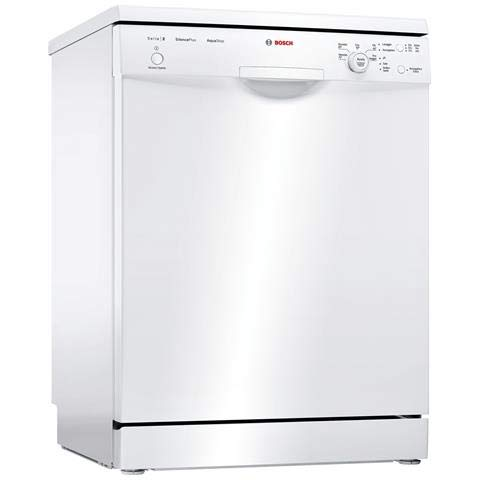 Bosch Serie 2 SMS25AW01J Freestanding 12place settings A++ dishwasher...