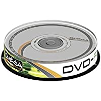OMEGA FREESTYLE DVD-R 4,7GB 16X TARRINA 10U