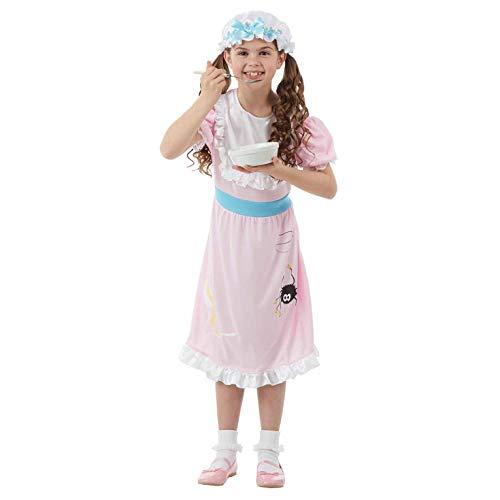 Kind Muffet Miss Kostüm - Fun Shack FNK4453M Kostüm, Girls, Little Miss Muffet, m