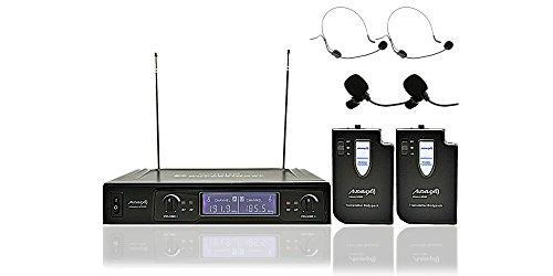 Audibax MISSOURI 2500-1 Microfono inalambrico Doble Lavalier / Madona