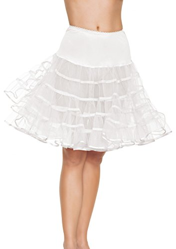 Leg Avenue- Mujer, Color blanco, Talla Única (EUR 36-40) (8304322002)