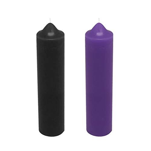 BESTOYARD Niedertemperatur Kerzenwachs Tropfkerzen Low Heat Kerzen für Paare Liebhaber Romantische Atmosphäre Maker 2 STÜCKE