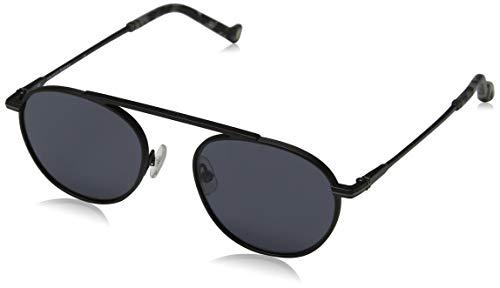 Hackett London Herren HSB87006549 Sonnenbrille, Schwarz (Negro), 49