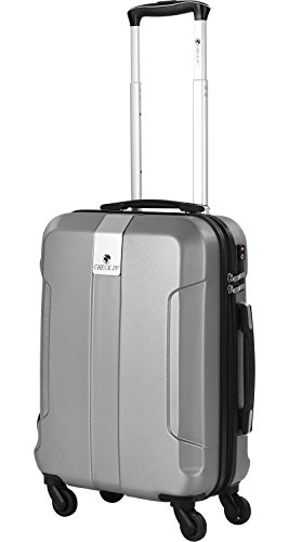Check. Dans Riga 4 roues boardtrolley 55 cm, 1 silber (Gris) - 56221066501