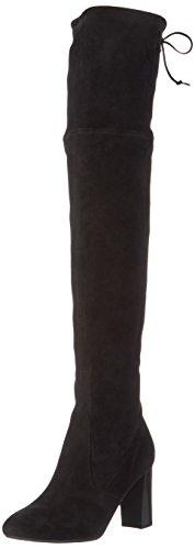 Peter KaiserKARDI - Stivali sopra il ginocchio con imbottitura leggera Donna , Nero (Schwarz (SCHWARZ SUEDE 240)), 37.5 EU