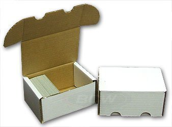 BCW-300 Count Storage Box (Qty = 50) by Collector's Supply co